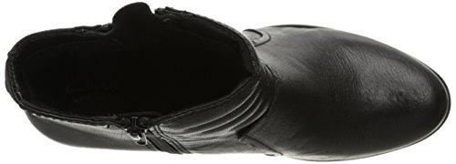 Clarks Palma Trina Boot Black Leather