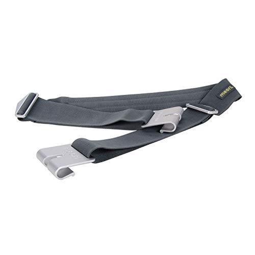 Schultergurt für Faltboxen Nylon Aluminiumhaken Tragehilfe stabil Einkaufen Sport Transport Freizeit