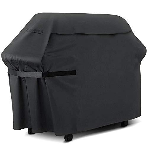 Nrpfell 600d oxford panno pioggia nera griglia un gas copertura della griglia griglia impermeabile resistente, griglia un gas esterna, per esterno nti-sbiadimento 147x61x122 cm