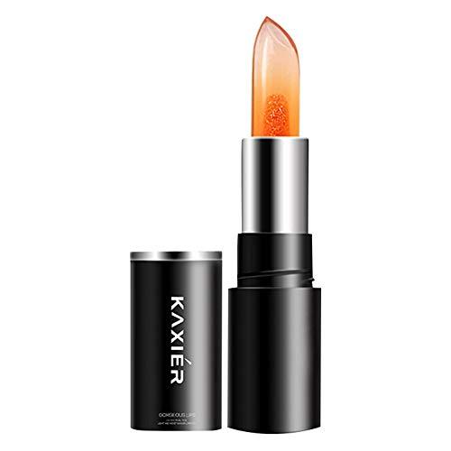 Lipgloss,Rabatt,PorLous 2019 Beliebt Transparente Gelee-Temperaturänderung Lippenstift-Temperaturänderung Mehrfachfarbe Feuchtigkeitsspendend 4