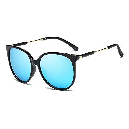 8f8c49b9b8 AMZTM Gafas de Sol Clásicas para Mujer Polarizadas Gafas Redondas Retro  Vendimia Gafas Ojo de Gato