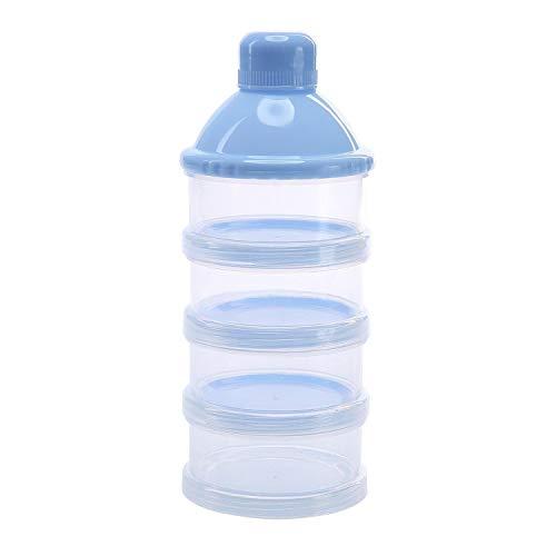 Dispensador de Formula, Felly apilable del dispensador de leche en polvo y almacenamiento de contenedores de aperitivos - no hay fugas en polvo, no BPA