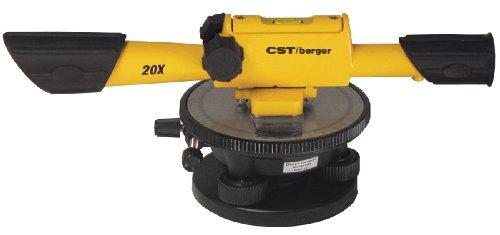 CST/Berger 54–190B 20x Speed Line Transit Level Paket mit Kreuz Haare und Tragetasche