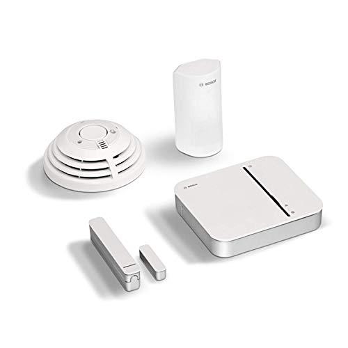 Bosch Smart Home Sicherheit Starter-Paket mit App-Funktion - EXKLUSIV für Deutschland, 4 Stück, 8750000006