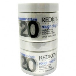 Redken STYLING- ROUGH CLAY 20 DUO PACK - Texturisant Matt 100 ml / Mattierende Paste