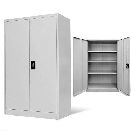 Stahl-garage Schränke (Generic * E Cabinet S Büroschrank/Schrank/Ste/Werkzeuge/Garage/Aufbewahrungsschrank Stahl L Werkzeuge G Files Grau Regale abschließbar le Files Grau)