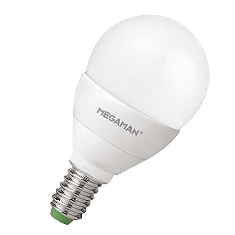LED Leuchtmitte l, Tropfenlampe , E14 / 5W, MEGAMAN (Nacht Bade)