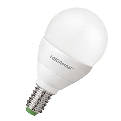 LED Leuchtmitte l, Tropfenlampe , E14 / 5W, MEGAMAN