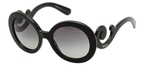 Prada occhiali da sole da donna 27n/s minimal baroque - 1ab-3m1: nero