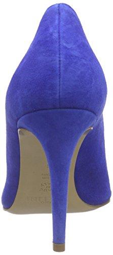 Pollini Scarpad.princess85 Cam.blt/Ne-bi-bt, Escarpins femme Blau (70A BLUETTE SUEDE-BLACK-WHITE-BLUETTE PVC POINT)