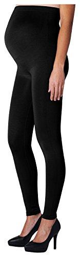 Noppies Damen Matt Fein Umstands Legging Seamless Cara, 100 DEN, Gr. 42 (Herstellergröße: XL/XXL), Schwarz (Black C270)