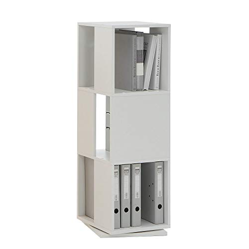 FMD Fashion Home Bücherregal Liberty A8 weiß