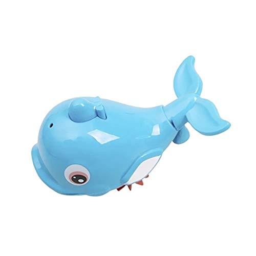 laonBonnie Nettes Delphin-Baby scherzt Bad-Duschen-Spielzeug-Spritzen-Wasser-Schwimmen-Fisch-Zug-Kind-Sich hin- und herbewegende Spielwaren