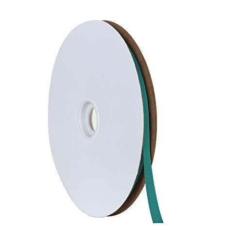 Berwick Offray Offray Grosgrain Ribbon-3/8 W X 100 Yards Band, New Jade Green -