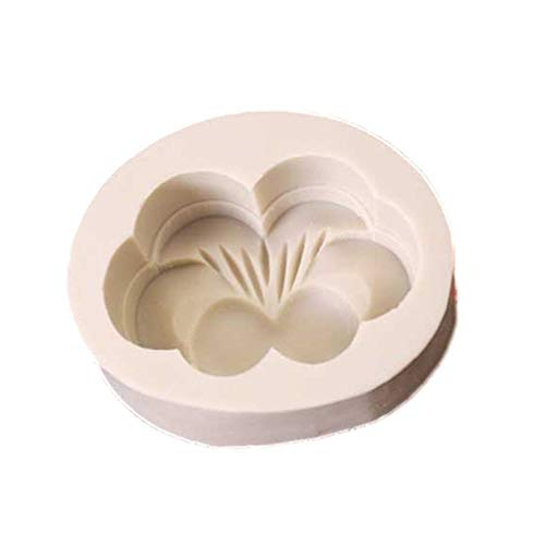 Toporchid Mooncake Baking Mould Muffin Cupcake Pan Silicone Mold Jelly Craft Art DIY Mold(Light Gray Butterfly) Butterfly Cupcake Pan