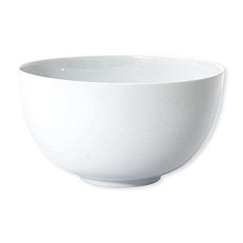 Bruno Evrard Saladier Rond Blanc en Porcelaine 27cm - Bello