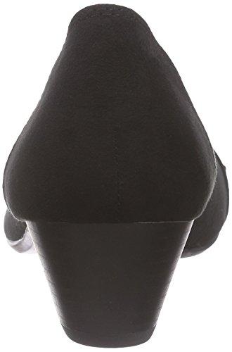 Jane Klain - 223 743, Scarpe col tacco Donna Nero (Schwarz (Black 009))