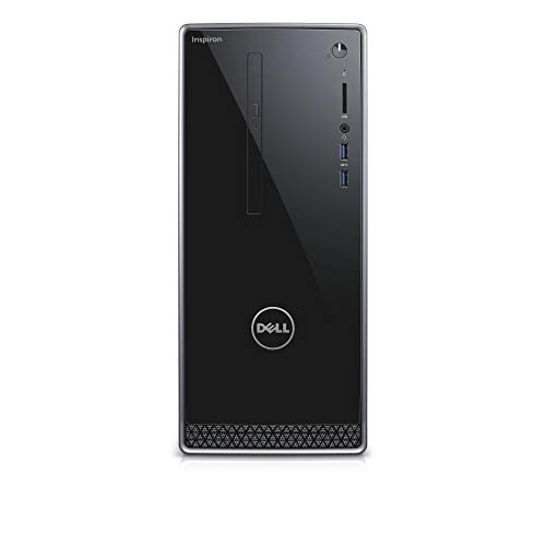 Dell Inspiron 3000 Desktop – (Black) (Intel Pentium ProcessorIntel HD On Boarding Graphics, Windows 10)