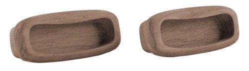Rechteckige Schublade Ziehen (SeaTeak 60135rechteckig Schublade Pull (31/4-Zoll), 2Stück)