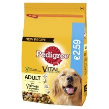 PET-88065 Pedigree Vital Protection Dry Adult with Chicken 1kg (1kg)