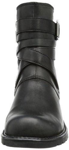 Clarks - Orinoco Sash, Stivali Da Motociclista da Donna Nero (Black Leather)