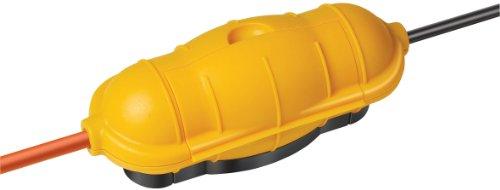 Brennenstuhl Safe-Box Schutzkapsel für Kabel BIG IP44 outdoor gelb, 1160440 (Sicherheits-kabel-elektronik)