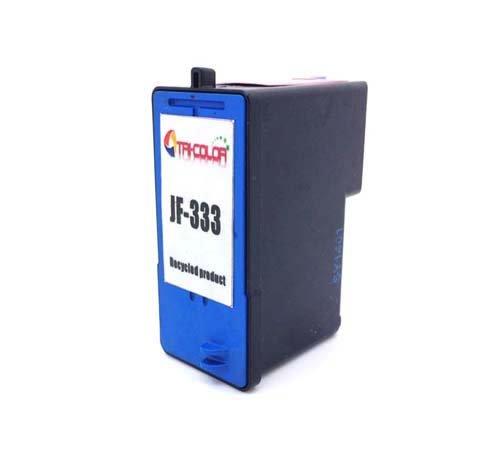 Office Channel24 Wiederaufbereitete JF333 Druckerpatronen kompatibel zu Dell JF333 P/N JF 333 Series 6 Remanufactured für Dell 725 Dell 810 (1 x Druckerpatronen farbig) -