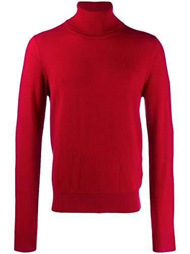 MAISON MARGIELA Luxury Fashion Uomo S50HA0884S16895309 Rosso Maglione | Autunno Inverno 19