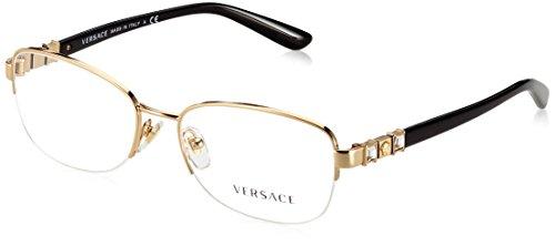 Versace Für Frau 1230b Silver Metallgestell Brillen, 54mm