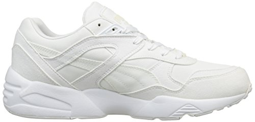 Puma R698, Baskets Basses Homme Blanc (White/Vaporous Grey)