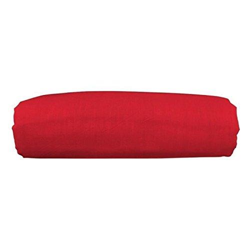Today lenzuola cottone a tinta unita, da 180 x 290 cm, rosso