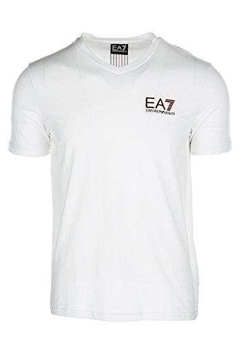 Emporio Armani Herren T-Shirt Bianco