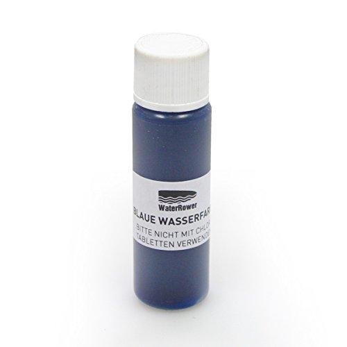 WaterRower Rudergerät Tankwasserfarbe, Blau, Standard
