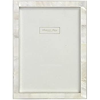 Addison Ross, Shell Photo Frame, 8x10, Mother of Pearl & Silver, 8 x 10 Inches