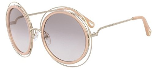 Chloé Sonnenbrillen CARLINA CE120SD PALE GOLD PINK/GREY PINK SHADED Damenbrillen