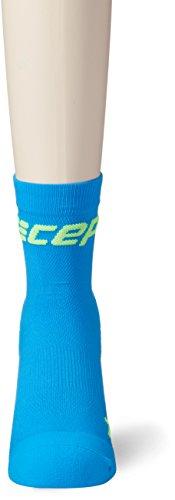 CEP Herren Ultralight Short Socks Kompressionsbekleidung electric blue/green