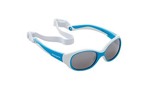Excape Baby Sonnenbrille Jungs - Blau - mit elastischem Brillenband! Höchster Schutz - Österreichische Top Qualität - kaum zu zerstören dank Wundermateriel TPE Thermoplastische Elastomere!