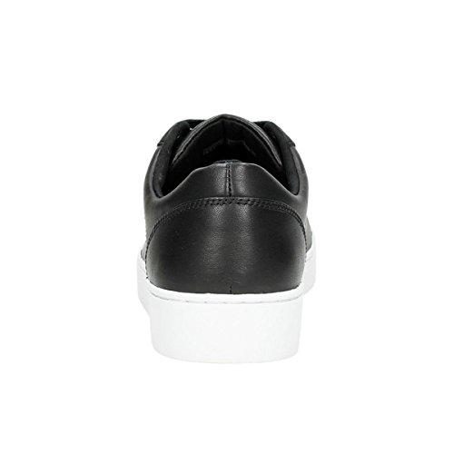 Vionic Womens Splendid Syra Leather Trainers Noir
