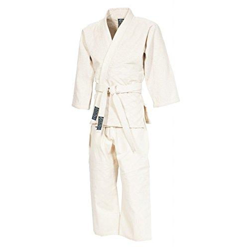 Gimer 11/002 judo-gi con cintura, bianco, 150 cm