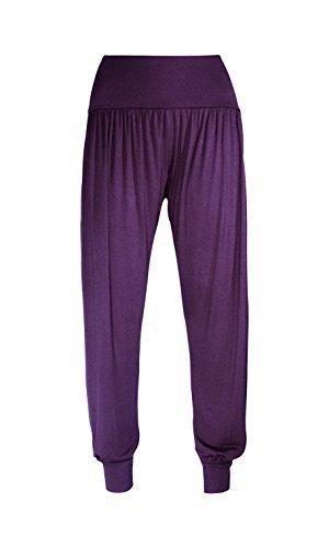 womens-ali-baba-legging-ladies-full-length-baggy-hareem-trouser-pant-8-10-12-14-uk-12-14-m-l-purple