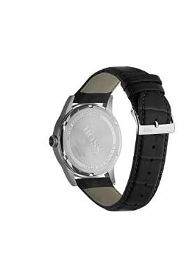 Hugo Boss 1512439 - Reloj analógico de cuarzo para hombre con correa de piel, color negro de Hugo Boss