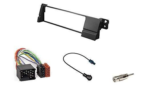 Façade radio incl Câble Adaptateur et Antennes Adaptateur pour BMW 3er e46 set