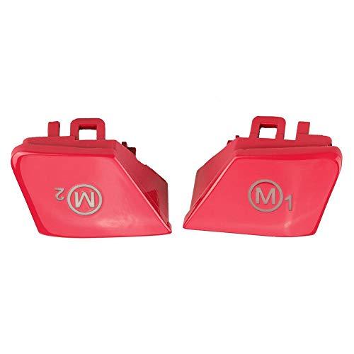 EBTOOLS 1 Paar Autolenkrad M1 M2 Modus Schalter Taste für M3 M4 F80 F82 F83(Rot)