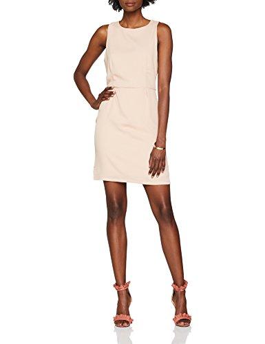 ONLY Damen Kleid Onlcaroline S/L Dress Wvn, Rosa (Rose Smoke Rose Smoke), 40