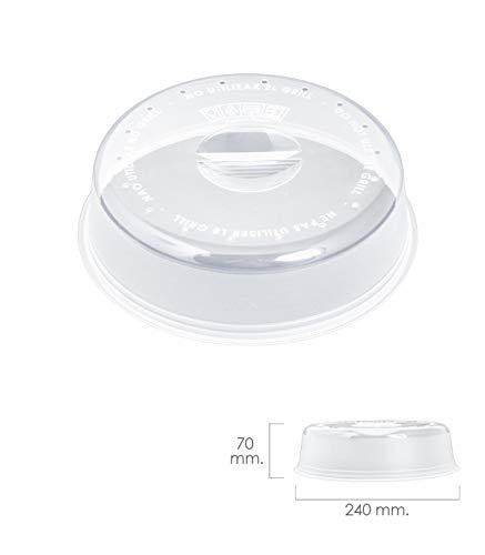 ORYX Ø Deckel Mikrowelle Ø 24x 7cm, transparent