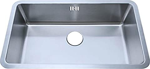 Large Undermount Brushed Stainless Steel Bowl Kitchen Sink 793x461mm (A04 bs)