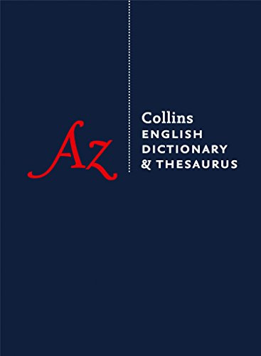 Collins English Dictionary & Thesaurus