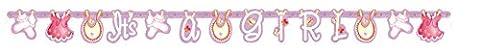 5ft Pink Schirmhaspel Baby Dusche
