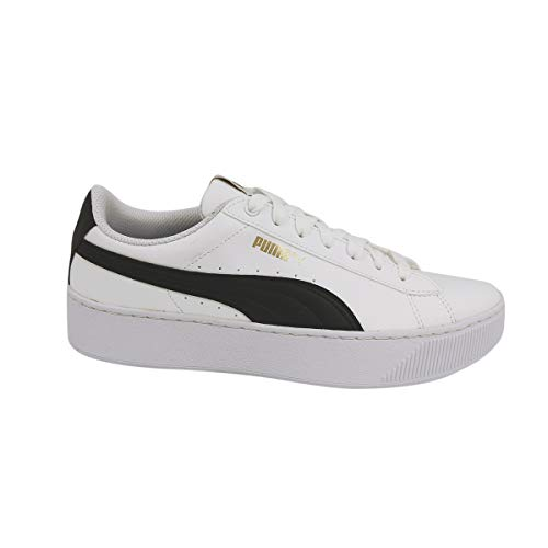 Puma Vikky Platform SL Donna, Pelle Liscia, Sneaker Alta, 40.5 EU