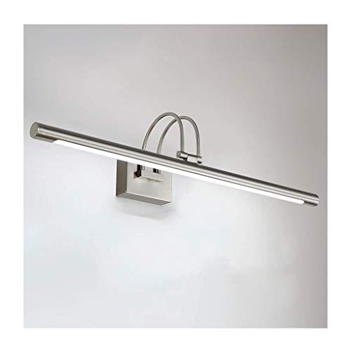 Badezimmer Lichter LED Spiegel Scheinwerfer, Wasserdicht Und Anti-fog Badezimmerspiegelschrank Lampe Retro Bad Schminktisch Spiegellampe Deckenleuchte (Farbe : Warmes weißes Licht-62CM/9W) (3497 Led-lampe)